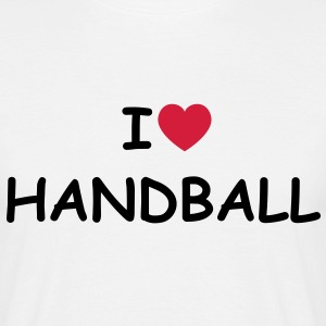 I love/heart Handball T-Shirt - Männer T-Shirt