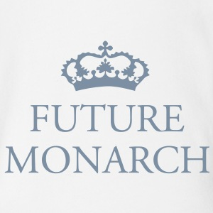 Gin O'Clock Future Monarch Baby One-piece - Organic Short-sleeved Baby Bodysuit