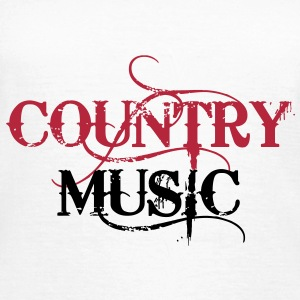 Country Music Tee shirts - T-shirt Femme