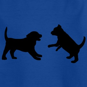 Puppies Playing Shirts - Kids' T-Shirt