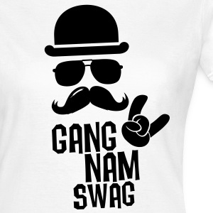 Like a Gangnam swag style moustache boss t-shirts Tee shirts - T-shirt Femme
