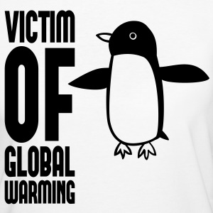 Victim of global warming - Pinguin - Frauen Bio-T-Shirt