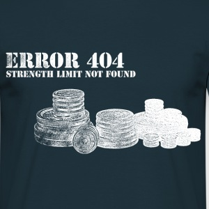 Error 404 White - Men's T-Shirt