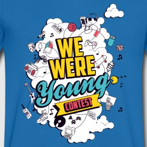 T-Shirt col v We Were Young - T-shirt Homme col V