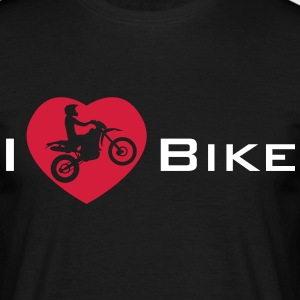 I Love my Enduro Bike T-shirts - Mannen T-shirt