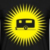 Caravan - Starburst Yellow - Men's T-Shirt
