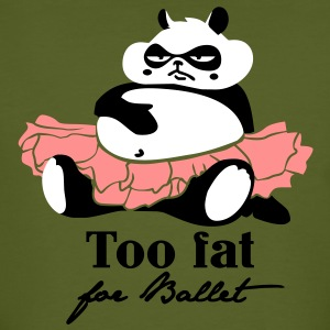 Too fat for Ballet T-Shirts - Men's Organic T-shirt