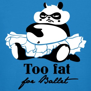 Too fat for Ballet T-shirts - Organic mænd