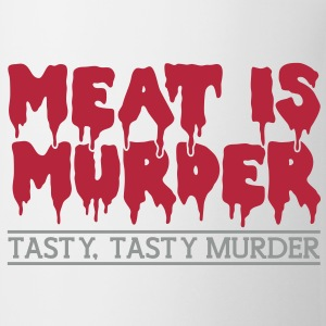 Meat is murder Bottles & Mugs - Mug