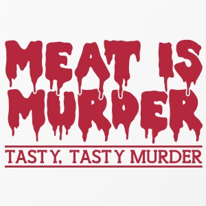 Meat is murder Other - iPhone 4/4s Hard Case
