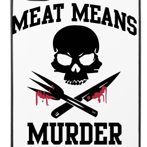 Meat means murder Other - iPhone 4/4s Hard Case