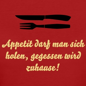 Steak Besteck, Gabel und Messer T-Shirts - Frauen Bio-T-Shirt