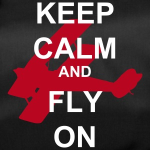 Keep Calm and Fly On Biplane - Duffel Bag