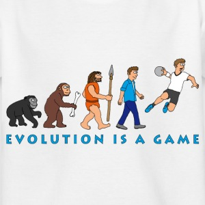 evolution_handball_comic_122012_b T-Shirts - Kinder T-Shirt