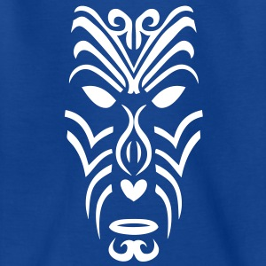 masque maori tribal tattoo2 ethnique Tee shirts - T-shirt Enfant