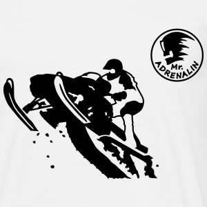 snowmobile_2 T-shirts - T-shirt herr