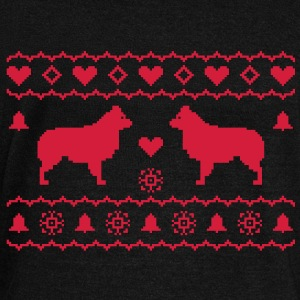 Australian Shepherd sans queue, traditionnel Sweaters - Vrouwen trui met U-hals van Bella