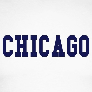 Blanc/marine chicago by wam T-shirts manches longues - T-shirt baseball manches longues Homme