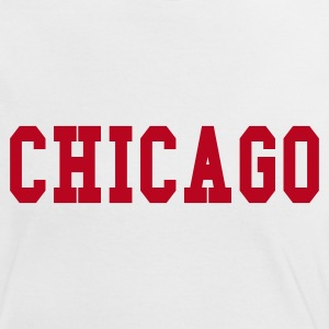 Blanc/rouge chicago by wam T-shirts - T-shirt contraste Femme