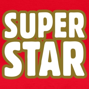 SUPERSTAR Outline T-shirts - T-shirt dam