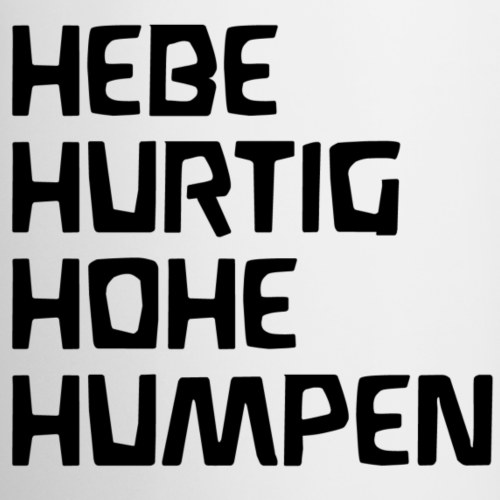 HEBE HURTIG HOHE HUMPEN