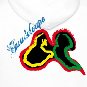 Guadeloupe Sweat-shirts - Sweat-shirt à capuche Premium pour hommes