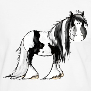 Gypsy Cob - Irish Cob - Pinto – Horse T-Shirts - Men's Ringer Shirt