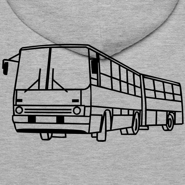 Buspilotins Shop Hooded Sweat Ikarus 280 Männer Premium Hoodie
