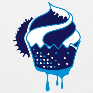 A graffiti cupcake with drops Bags  - Shoulder Bag