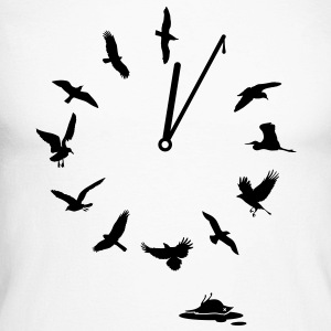 Doomsday Bird Clock sauver la terre-mère! Tee shirts manches longues - T-shirt baseball manches longues Homme