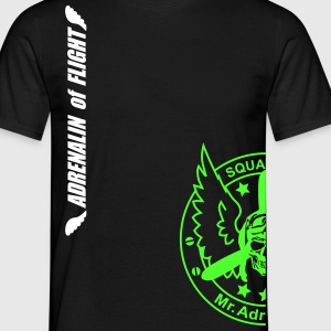 Adrenalin of flight - Männer T-Shirt