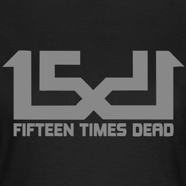 15 Times Dead Silver Glitter