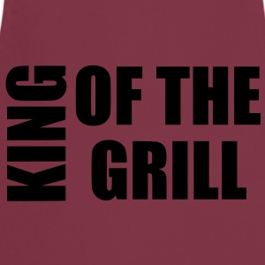 king of the grill  Aprons - Cooking Apron