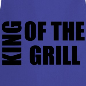 king of the grill Grembiuli - Grembiule da cucina