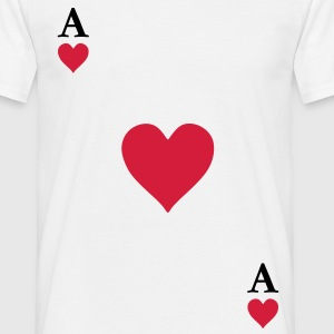 As de coeur Tee shirts - T-shirt Homme