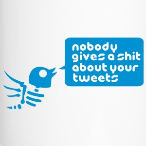 nobody_gives_a_shit_about_your_tweets_1c Bottles & - Travel Mug