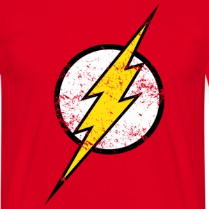 Flash Logo t-shirt voor mannen - Mannen T-shirt