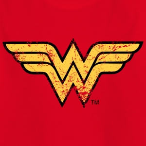 Wonder Woman Logo T-Shirt für Kinder  - Kinder T-Shirt