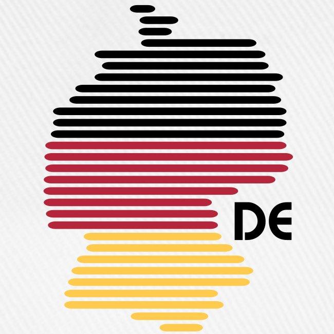 Deutschland Grafik (bis 1 - 3 Farben)