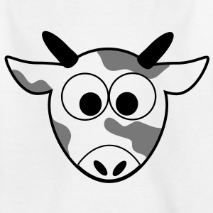 Mr. Moo Cow cow cows grazing meadow farm 3c Shirts - Kids' T-Shirt