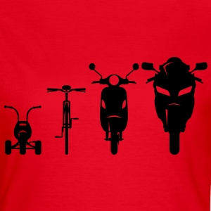 Evolution avant Motorcycle  Tee shirts - T-shirt Femme