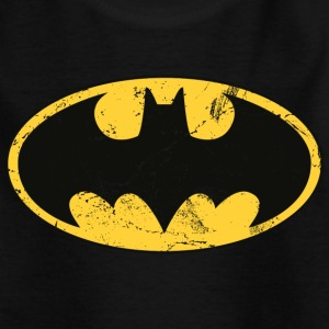 Batman Logo T-Shirt für Kinder, Superhelden T-Shirt - Kinder T-Shirt