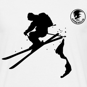 ski_freerider T-Shirts - Men's T-Shirt