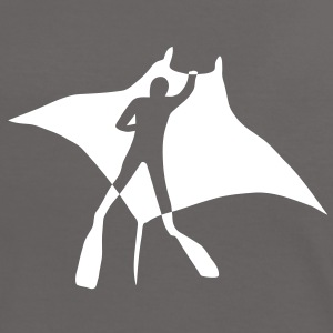 manta ray rochen taucher tauchen scuba diving dive T-Shirts - Frauen Kontrast-T-Shirt