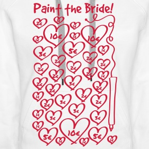 Paint to the bride - hen night Hoodies & Sweatshirts - Women's Premium Hoodie