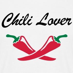 Chili Lover Chef cuisinier, cuisinière Tee shirts - T-shirt Homme