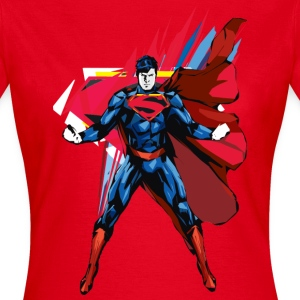 Superman Power Pose Vrouwen T-Shirt - Vrouwen T-shirt