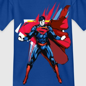 Superman T-Shirt Pose Almighty für Kinder  - Kinder T-Shirt