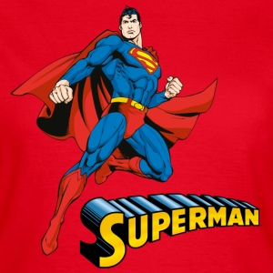 Superman Move Pose T-shirt dam - T-shirt dam