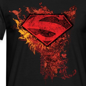 Superman S-Shield Ornate herre-T-shirt - Herre-T-shirt